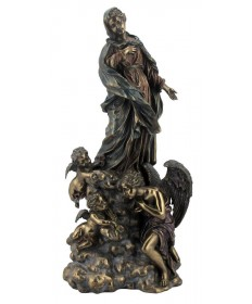 """Immaculate Conception 13"""" Statue"""