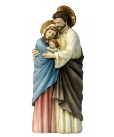 "Holy Family 10"" Statue Colored"