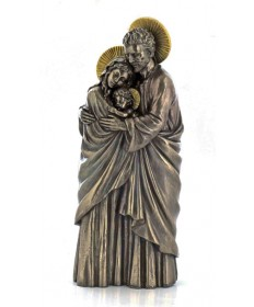 "Holy Family 10"" Statue Bronzed"