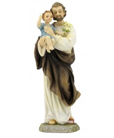 "Saint Joseph and Child 8"" Statue"