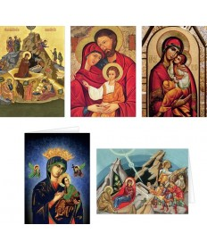 "Christmas Cards Set ""Icons"""