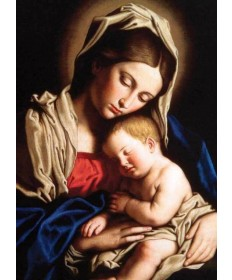 "Christmas Cards ""Madonna and Her Child"""