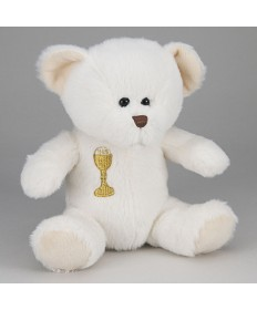Communion Teddy Bear - White