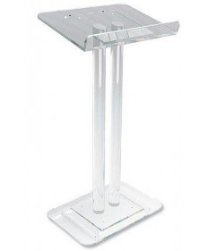 "Lectern - Two Column Acrilic 45""H"
