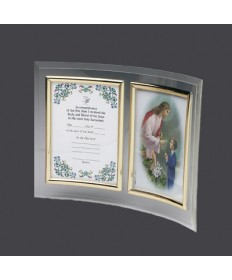 First Communion Certificate Frame for Boys